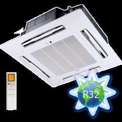 FISHER FSKUIF-120CE3-EU (beltéri egység + kazetta előlap (panel)) Kazettás split beltéri 3,5 kW, hősz.,invert.,R32