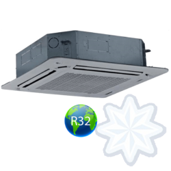 FISHER FSKIF-602AE3/FSOIF-603AE3-3F (beltéri +kültéri egys + panel) Kazettás split klíma 15,7 kW, Inverter,Hösziv., R32,400V