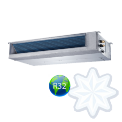 FISHER FSLIF-184AE3/FSOIF-185AE3 (beltéri +kültéri egység) Légcsatornás split klíma 5,3 kW,Inverter,Hősziv.,R32