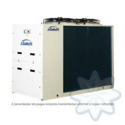 GALLETTI MPE 032 C0 (01S0C00000001) pump, tank, cond.contr. folyadékhűtő (hidroblokkal, vent. ford. szab.) 31,5 kW,R 410A, 3 fázis