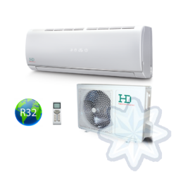 HD  HDWI-MAXIMUS-95C / HDOI-MAXIMUS-95C (beltéri +kültéri egység) Oldalfali split klíma (MAXIMUS) 2,5 kW, Hősziv,Inverteres, R32