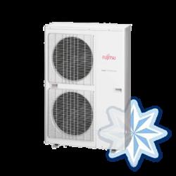 FUJITSU ABYG45LRTA/AOYG45LATT (kültéri + beltéri egység)  mennyezeti split klíma 12,5 kW, R410A, inverter, hősziv. 400V