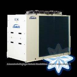 GALLETTI MPE 040 C0 (01S0C00000001) pump, tank, cond.contr. folyadékhűtő (hidroblokkal, vent. ford. szab.) 39,0 kW,R 410A, 3 fázis