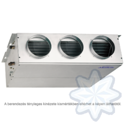 GALLETTI  UTN 40 (UT40D0L00000N0A)  Légcsatornás fan-coil, parapet/mennyezeti 19,6 kW, 230-1-50