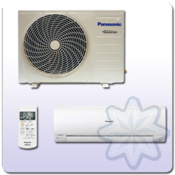 "Panasonic ""RE"" Oldalfali 2.5 kW MONO SPLIT KLÍMA KIT-RE9-NKX"