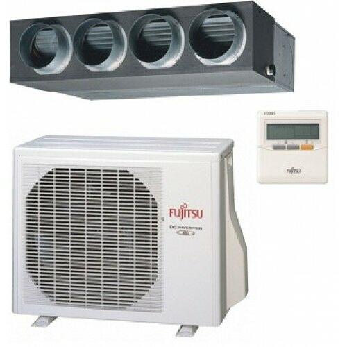 FUJITSU ARYC54LCTU/AOYD54LATT Légcsatornázható 14 kW inverteres hőszivattyús klíma